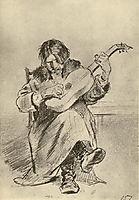 Guitarist-bach , perov
