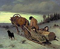 Last Journey, 1865, perov