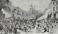 The Market in Moscow , 1868, perov