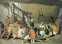 Merrymaking-in-Paris, 1864, perov