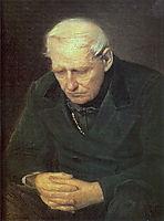 Old man, 1874, perov