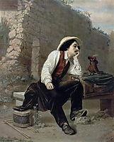 Organ Grinder, 1863, perov