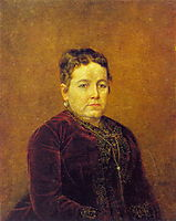Portrait of an Unknown , perov