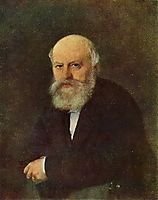 Portrait of the composer P.S. Campione , 1872, perov