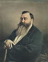 Portrait of F.F. Rezanov , 1868, perov