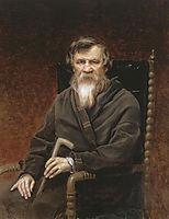 Portrait of the historian Mikhail Petrovich Pogodin , 1872, perov