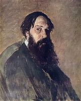 Portrait of the Painter Alexey Savrasov, perov