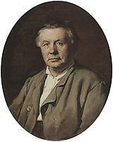 Portrait of Unknown Man, 1870, perov