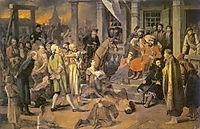 Pugachev`s Judgement, 1875, perov