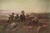 Scouts at Sevastopol , 1874, perov