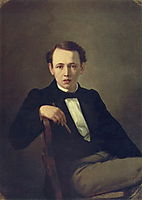 Self-portrait , 1851, perov