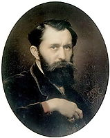 Self-portrait , 1870, perov