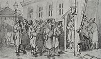 Walkers-seeking , 1880, perov