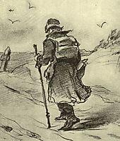 Wayfarer , 1873, perov