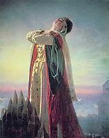 Yaroslavna-s Lament , 1881, perov