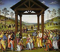 The Adoration of the Magi, perugino