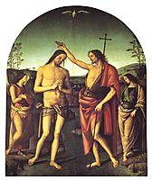 Baptism of Christ, 1510, perugino