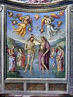 Baptism of Jesus, 1507, perugino