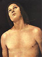 Bust of St. Sebastian, 1494, perugino