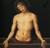 Christ on the sarcophagus, 1495, perugino