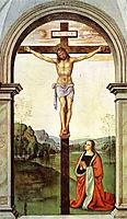 The Crucifixion, 1496, perugino