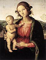 Madonna and Child, c.1495, perugino