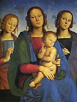 Madonna and Child with St. Catherine and St. Rosa, 1493, perugino