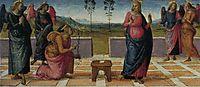 Madonna of Loreta (Annunciation), 1507, perugino