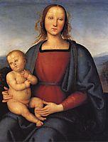 Madonna with Child, 1500, perugino
