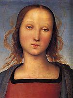 Madonna with Child (particular detail), 1500, perugino