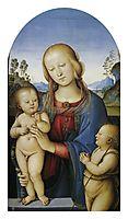 Madonna with Children and St.John, 1485, perugino