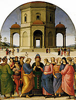Marriage of the Virgin, 1504, perugino