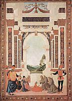 The Miracles of San Bernardino. The Healing of a Young, 1473, perugino