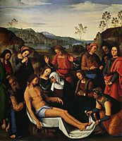 The Mourning of the Dead Christ (Deposition), 1495, perugino