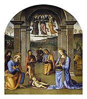 Nativity, 1500, perugino