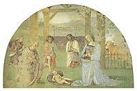 Nativity, 1502, perugino