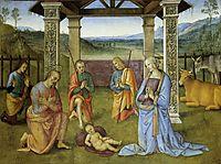 Nativity, 1503, perugino