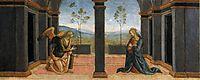Paladi Corciano(Annunciation), 1513, perugino