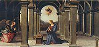 Pala diFano(Annunciation), 1497, perugino