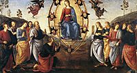 Pala diFano(Assumption), 1497, perugino
