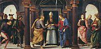 Pala diFano (Marriage of the Virgin), 1497, perugino