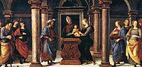 Pala diFano (Presentation inthe Temple), 1497, perugino