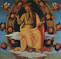 Pala di Sant Agostino (LordBlessing), 1523, perugino