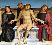Pala di Sant Agostino (Pieta), 1523, perugino
