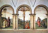 The Pazzi Crucifixion, 1496, perugino