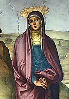 The Pazzi Crucifixion (detail 1), perugino