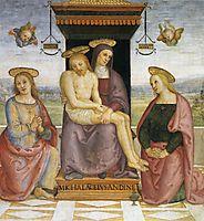 PietabetweenSt.JohnandMary Magdalene, 1521, perugino