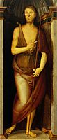 Polyptych Annunziata (John the Baptist), perugino