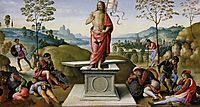 Polyptych ofSt. Peter(Resurrection), 1500, perugino