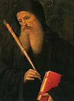 Polyptych ofSt. Peter (St.Benedict), 1500, perugino